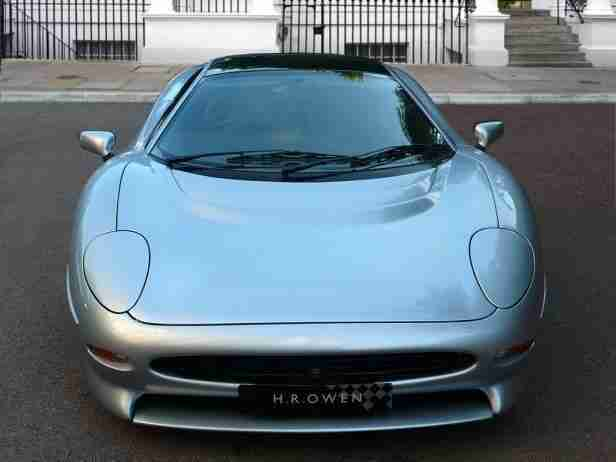 2014 Jaguar XJ220 Petrol Silver Manual