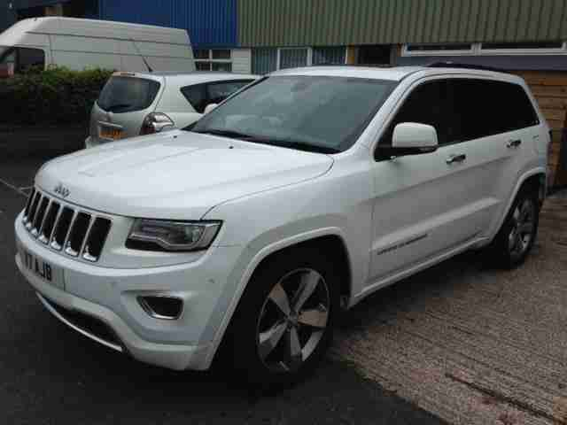 2014 Jeep Grand Cherokee Overland 3.0CRD 247bhp 4X4 Auto, 1 Owner, 20,000 Miles