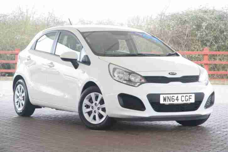 Kia Rio. Kia car from United Kingdom