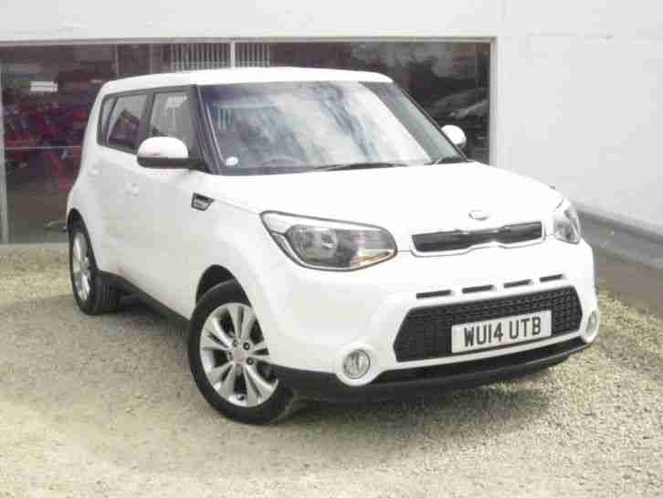 2014 Kia Soul CRDI Connect, Reversing Camera, Air Con, DAB Radio, Alloy Wheels,