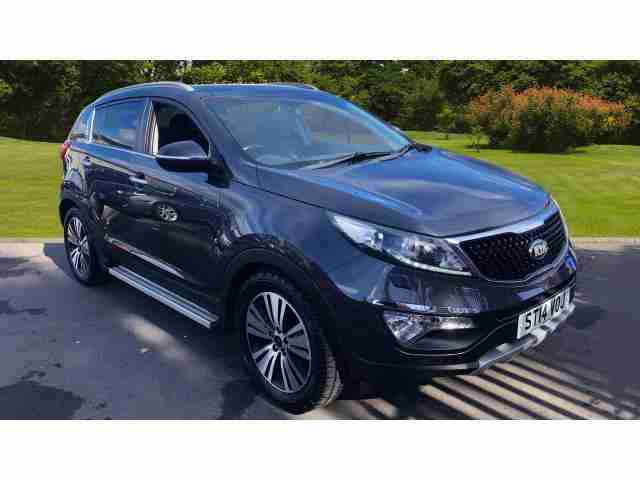 Kia Sportage. Kia car from United Kingdom