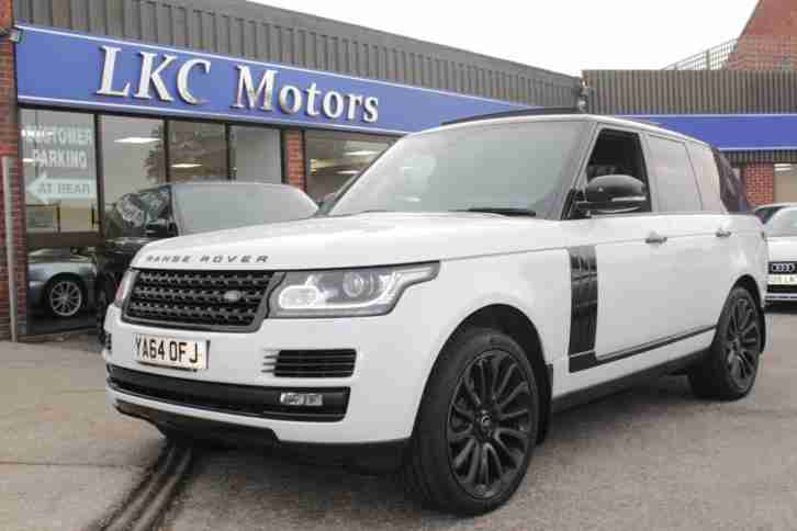 2014 LAND ROVER RANGE ROVER TDV6 VOGUE ESTATE