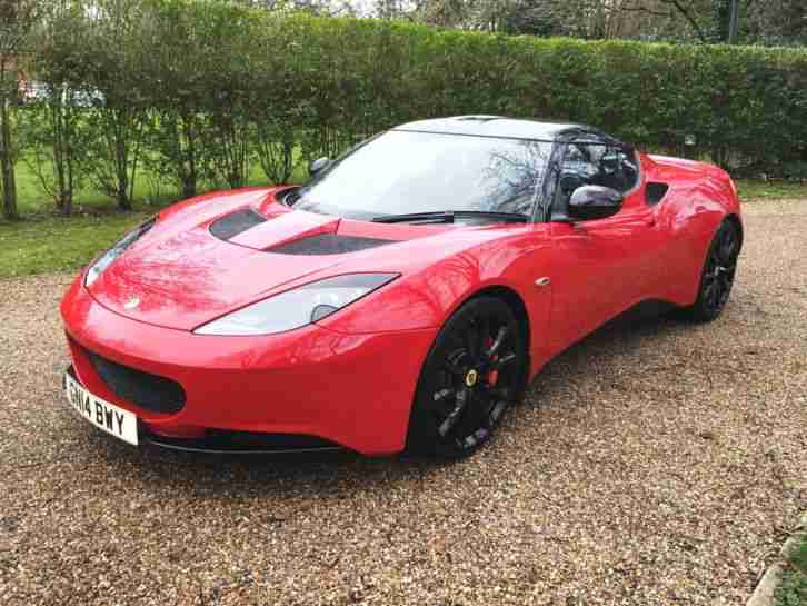 Lotus EVORA. Lotus car from United Kingdom