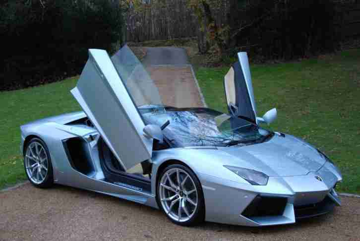 2014 Lamborghini AVENTADOR LP700 Roadster VAT QUALIFYING Automatic Coupe