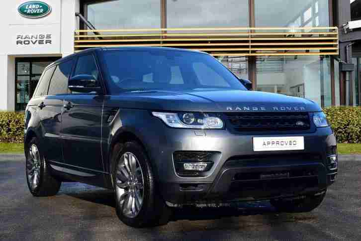 2014 land rover range rover sport diesel grey automatic car for sale. Black Bedroom Furniture Sets. Home Design Ideas