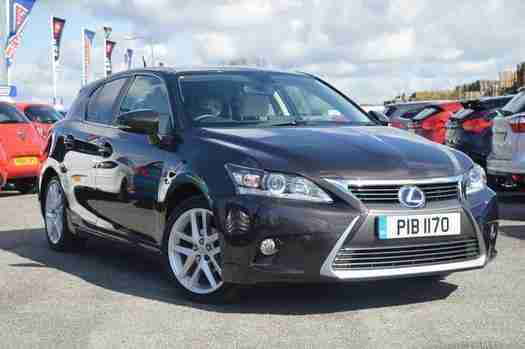 2014 Lexus CT 200h 1.8 Luxury 5 door CVT Auto Hybrid Hatchback