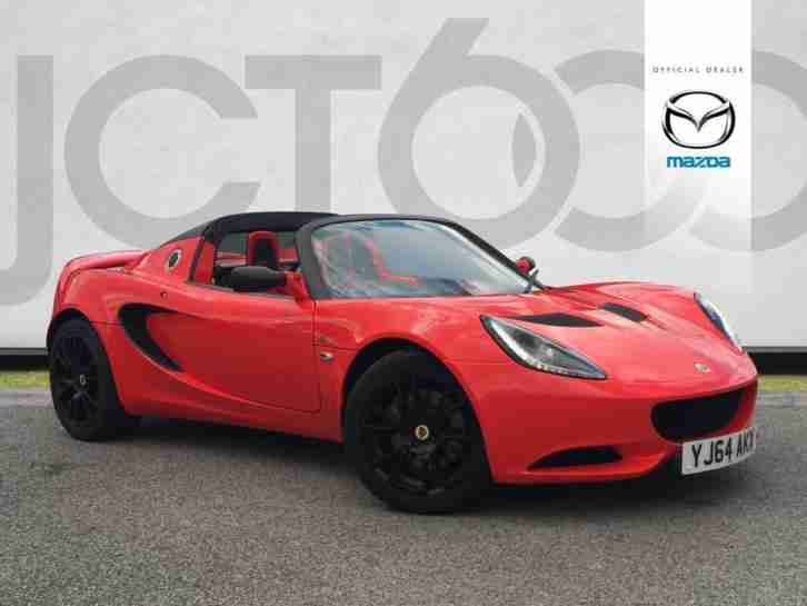 2014 Elise S CLUB RACER COMFORT Manual