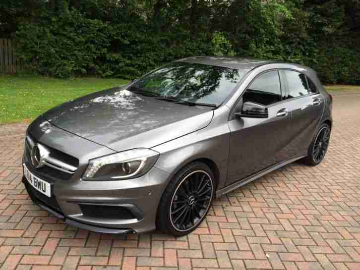mercedes benz 2014 a180 a45 blueefficiency sport grey full a45 car for sale. Black Bedroom Furniture Sets. Home Design Ideas