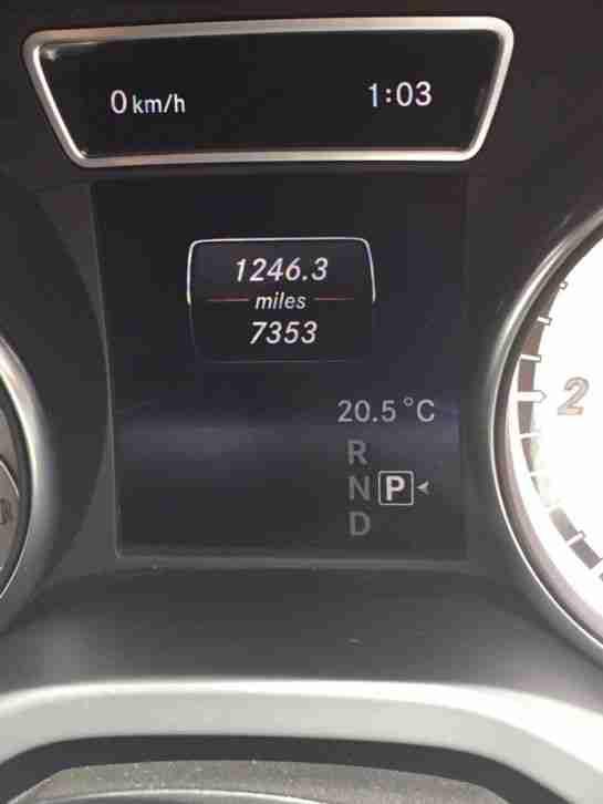 Mercedes Benz 2014 Cla220 Amg Sport Cdi Auto White Car