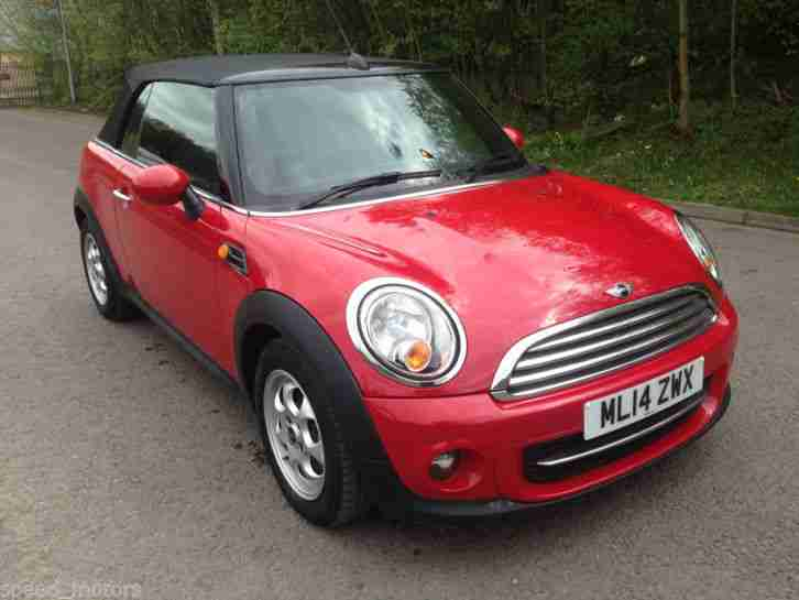 2014 MINI COOPER RED 1.6 PETROL