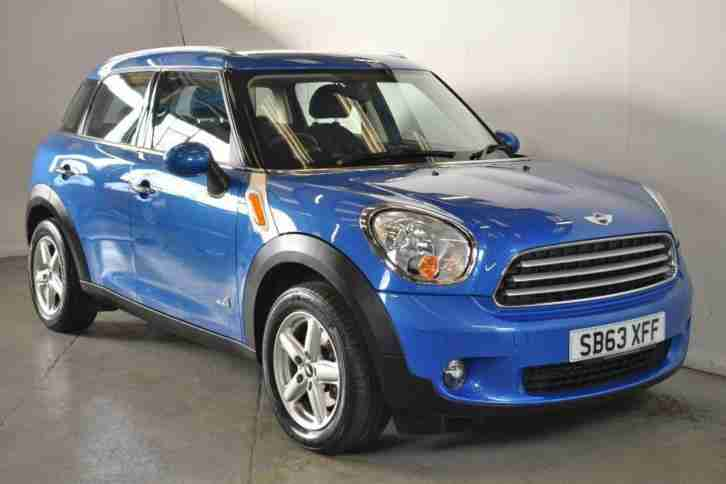 2014 MINI Countryman 2.0 Cooper S D ALL4 5dr Auto [Chili Pack] Automatic Hatchba