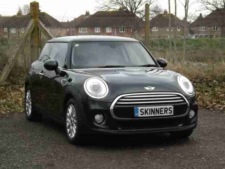 2014 MINI Hatch 3Dr Cooper 1.5D 116 DPF SS EU6 6Spd Diesel black Manual