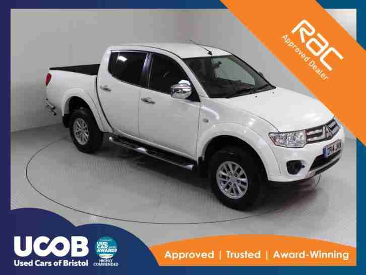 Mitsubishi L200. Mitsubishi car from United Kingdom