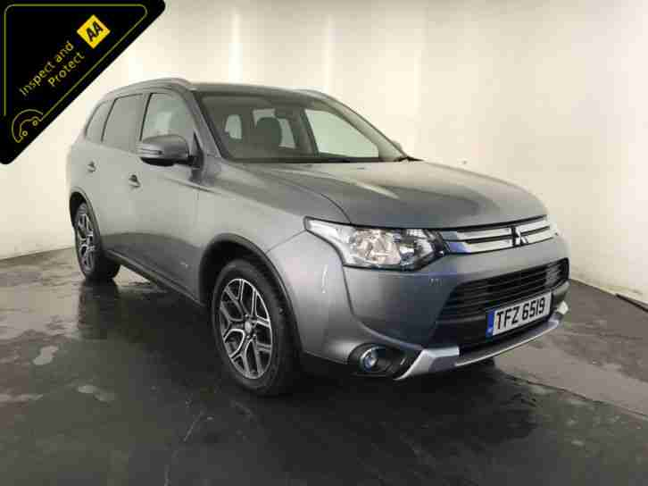 2014 MITSUBISHI OUTLANDER GX 3 DIESEL 4WD 1 OWNER SERVICE HISTORY FINANCE PX