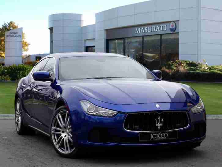 Maserati Ghibli. Maserati car from United Kingdom