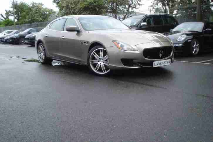Maserati Quattroporte. Maserati car from United Kingdom