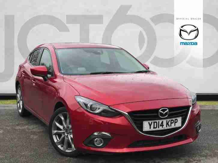 2014 3 D SPORT NAV Manual Hatchback