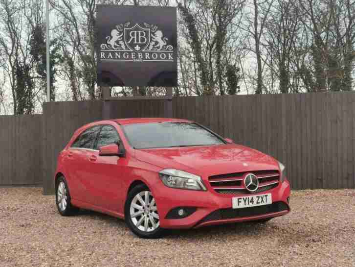 2014 Mercedes Benz A CLASS 1.5 A180 CDI ECO SE 5dr Hatchback Diesel Manual
