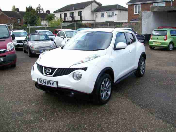 2014 NISSAN JUKE 1.5 dCi Tekna,Leather,Nav,1 owner,30k fsh.