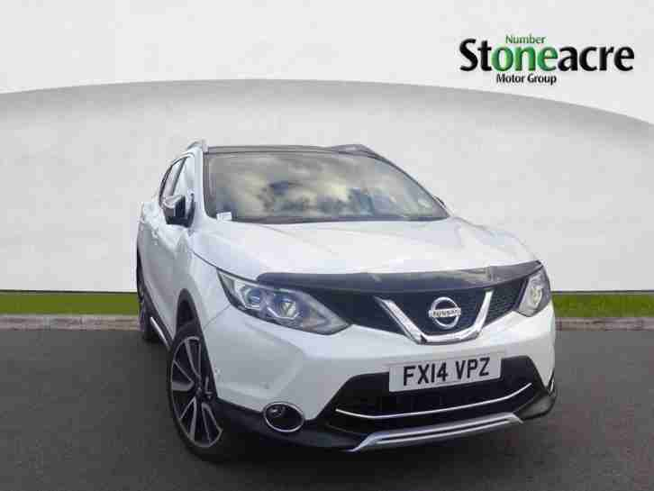 nissan 2014 qashqai 1 6 dci tekna hatchback 5dr diesel manual 115 g. Black Bedroom Furniture Sets. Home Design Ideas