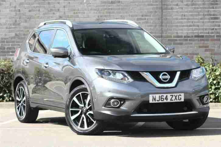 2014 Nissan X Trail 1.6 dCi 4X4 Tekna Diesel grey Manual