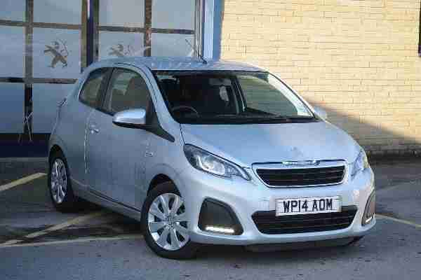 Peugeot 108. Peugeot car from United Kingdom