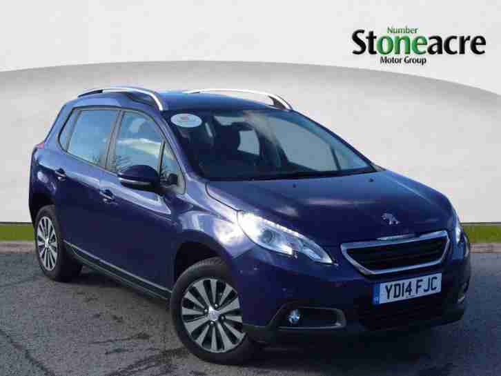 2014 Peugeot 2008 1.6 e HDi Active SUV 5dr Diesel EGC (start stop) (98