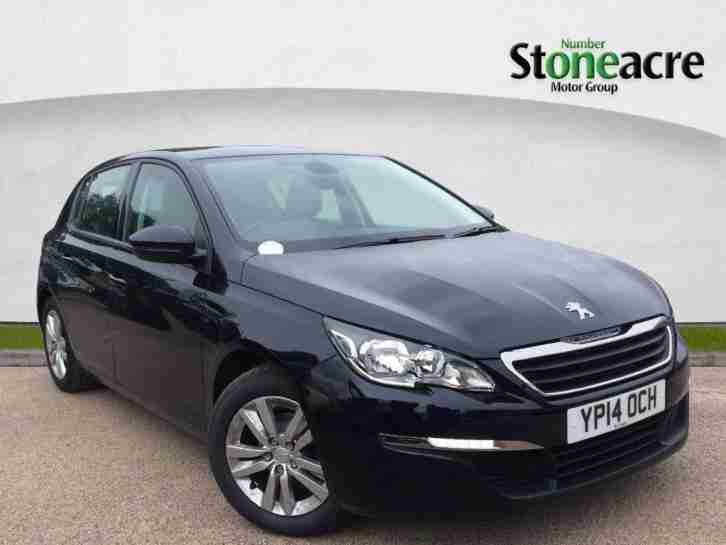 2014 Peugeot 308 1.6 HDi Active Hatchback 5dr Diesel Manual (93 g km, 92