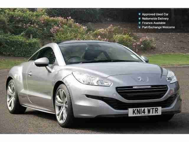 peugeot 2014 rcz 2 0 hdi gt 2dr diesel coupe car for sale. Black Bedroom Furniture Sets. Home Design Ideas