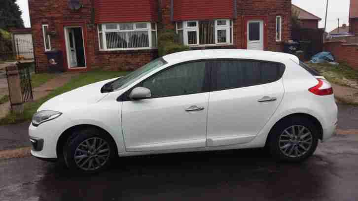 2014 MEGANE KNIGHT EDITION VVT WHITE