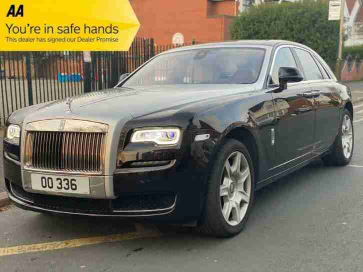 2014 Rolls Royce Ghost 6.6 V12 4d AUTO SERIES 2 Saloon Petrol Automatic