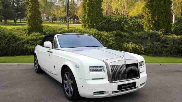 2014 Rolls Royce Phantom Drophead Coupe Automatic Petrol Coupe