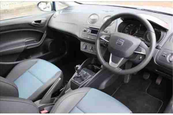 Seat 2014 Ibiza SC 12 TSI I TECH 3 Door Blue car for sale