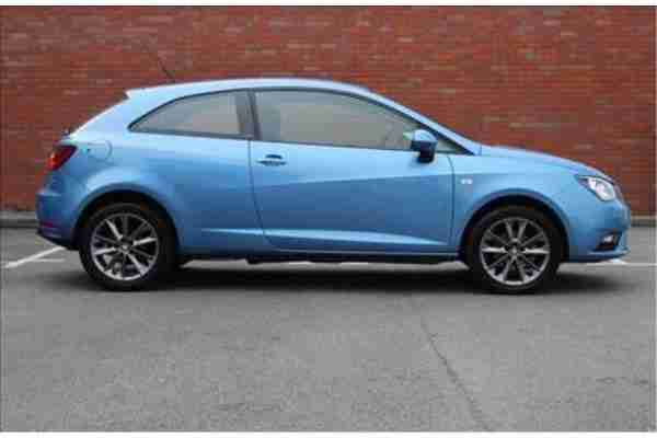 2014 SEAT Ibiza SC 1.2 TSI I-TECH 3-Door Blue