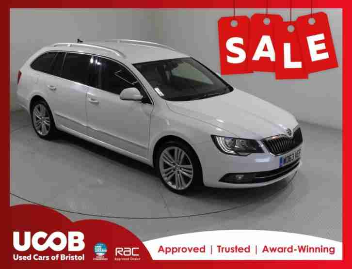 2014 SKODA SUPERB 2.0 TDI CR DPF ELEGANCE 5DR ESTATE DIESEL