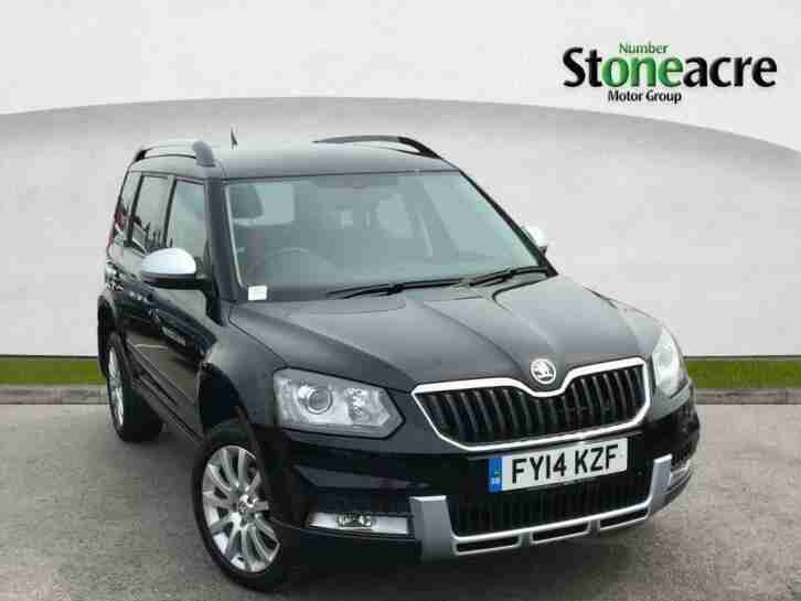 Skoda Yeti. Skoda car from United Kingdom