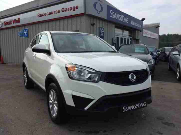 Ssangyong KORANDO. Ssangyong car from United Kingdom