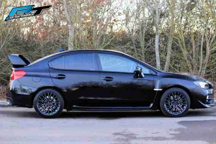 2014 SUBARU WRX 2.5 4X4 STI TYPE UK 64 | CRYSTAL BLACK
