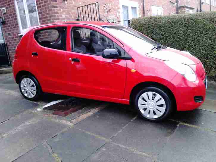 Suzuki 2014 Alto Sz Red Nearly 12 Months Old Free Tax