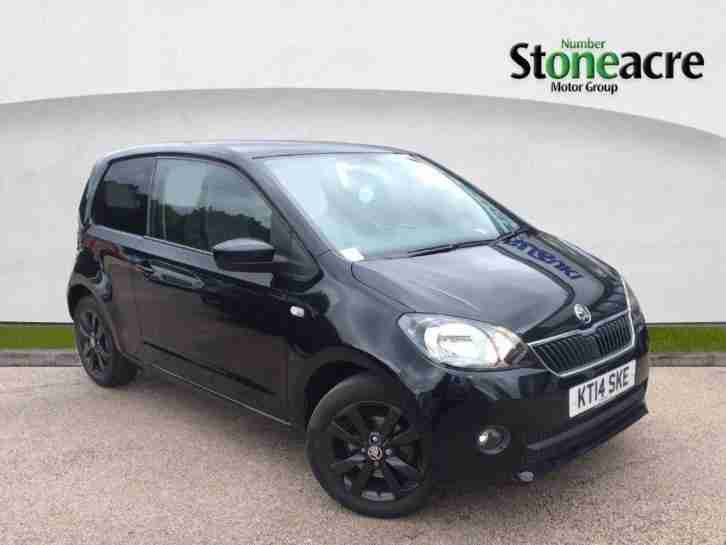 2014 Skoda Citigo 1.0 MPI Black Edition Hatchback 3dr Petrol Manual (105