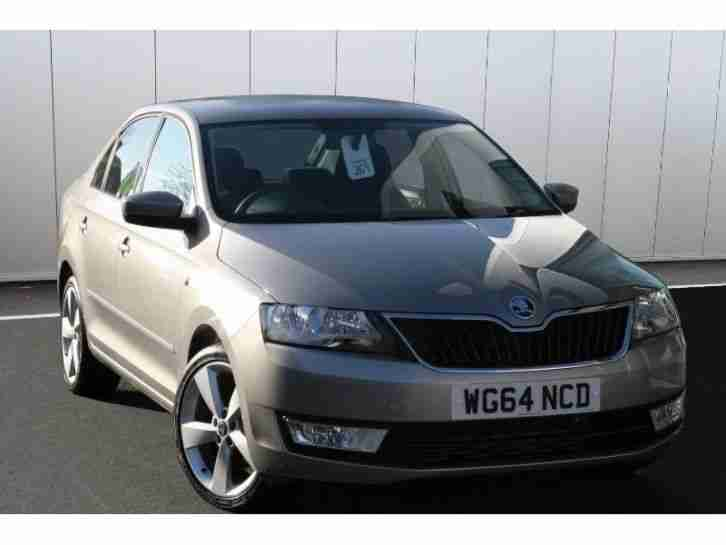 Skoda RAPID. Skoda car from United Kingdom