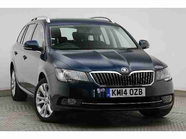 2014 Skoda Superb Estate 5-Dr 2.0 TDI CR 4x4 SE (170 BHP) DSG