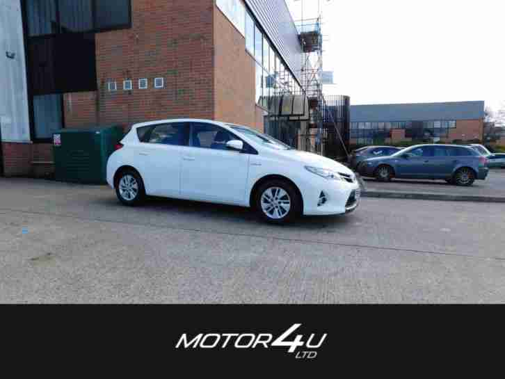 toyota 2014 auris icon vvt i hatchback hybrid car for sale. Black Bedroom Furniture Sets. Home Design Ideas