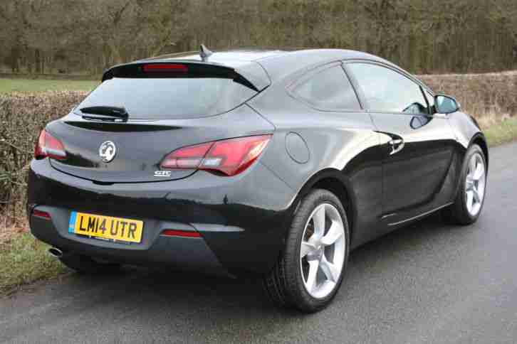 2014 VAUXHALL ASTRA GTC SPORT CDTI S S BLACK. car for sale