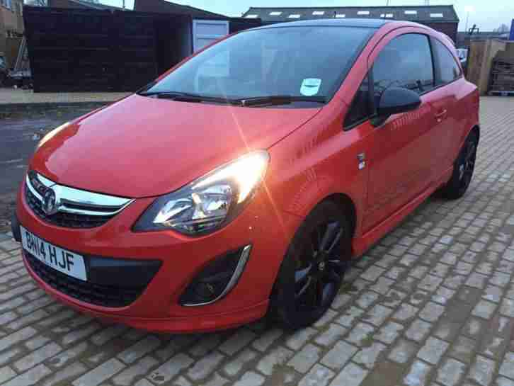 Vauxhall 2014 Corsa D 1 2l Limited Edition Red Car For Sale