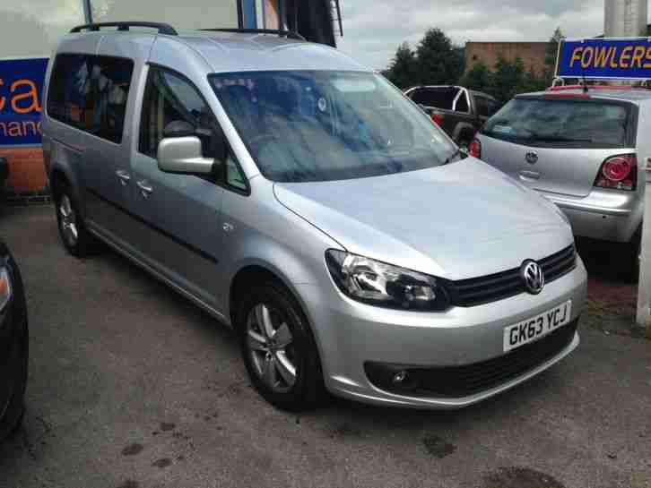 f0c8beb6a1 Volkswagen 2014 CADDY MAXI C20 LIFE TDI S SILVER DISABILITY VEHICLE