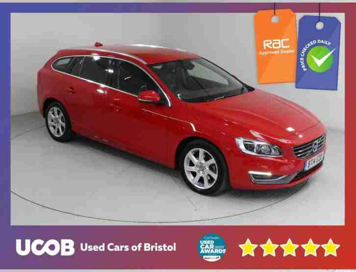 2014 V60 2.0 D4 SE LUX 5DR ESTATE