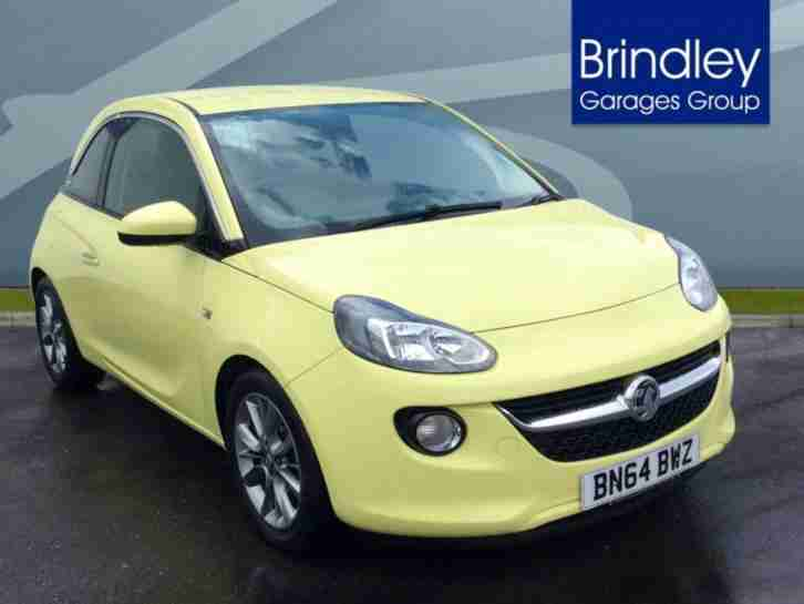 2014 Vauxhall Adam Jam Petrol green Manual