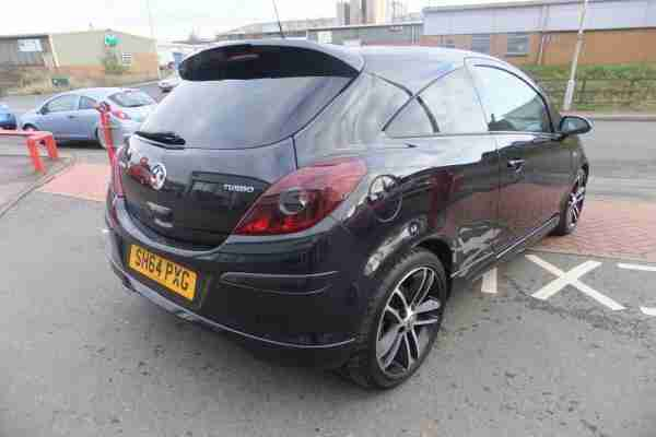 2014 Vauxhall Corsa Black Edition 1.4T 120PS 3DR - £1,000 MINIMUM PART EXCHANGE!