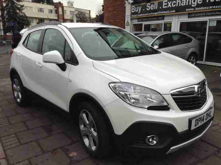 2014 vauxhall mokka 1 6 s s exclusiv 5dr car for sale. Black Bedroom Furniture Sets. Home Design Ideas